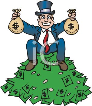 Pile Of Money Clipart--18