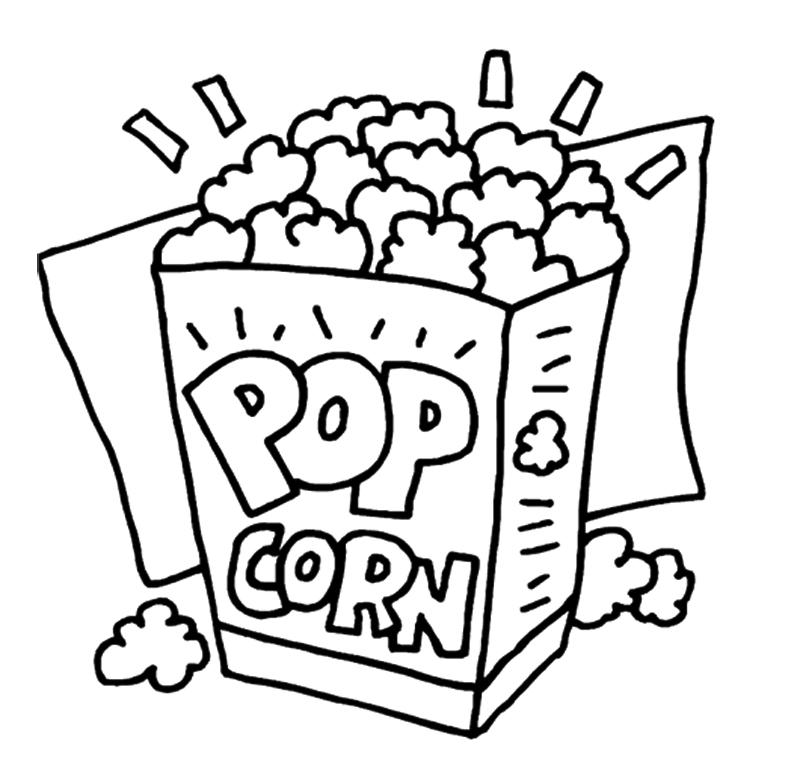 Popcorn Clip Art