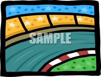 Race Track Clip Art