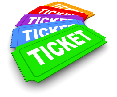 Raffle Tickets Clipart--1
