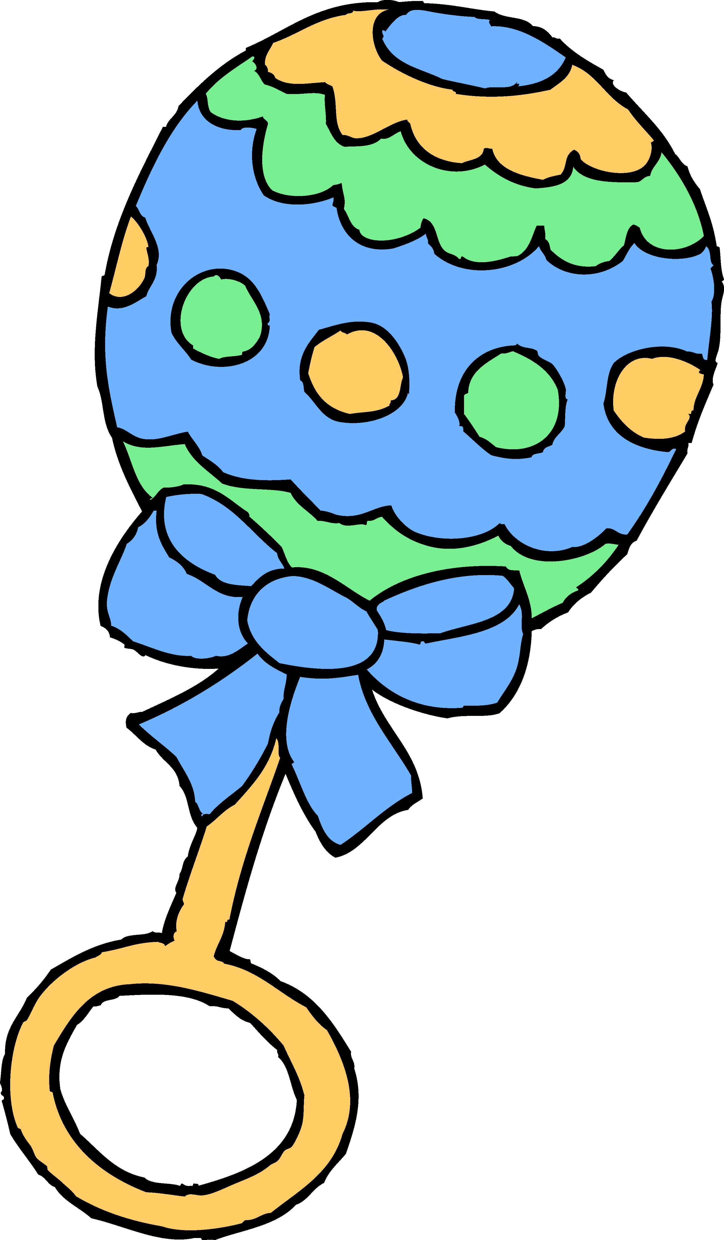 Rattle Clip Art