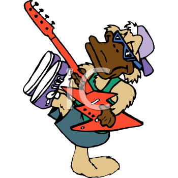 Rock And Roll Clip Art--0
