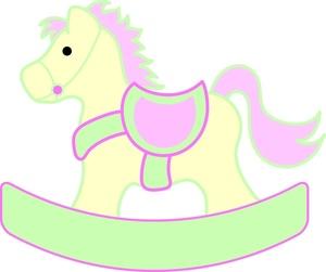 - Rocking Horse Clip Art