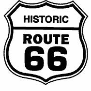 Route 66 Clipart