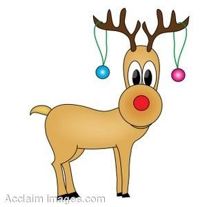 - Rudolph The Red Nosed Reindeer Clipart