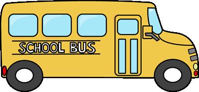 School Bus Clip Art--0