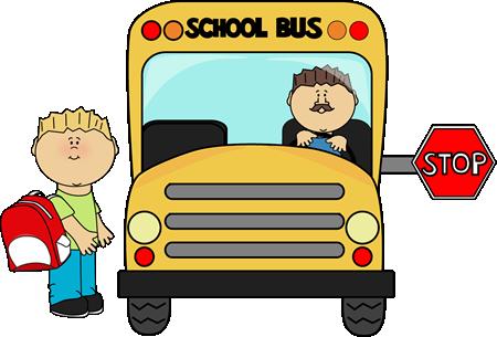 School Bus Clip Art--1