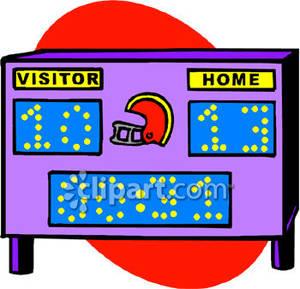 Scoreboard Clipart