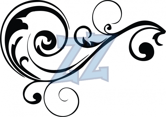 Scrollwork Clipart--7
