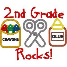 Second Grade Clip Art--6