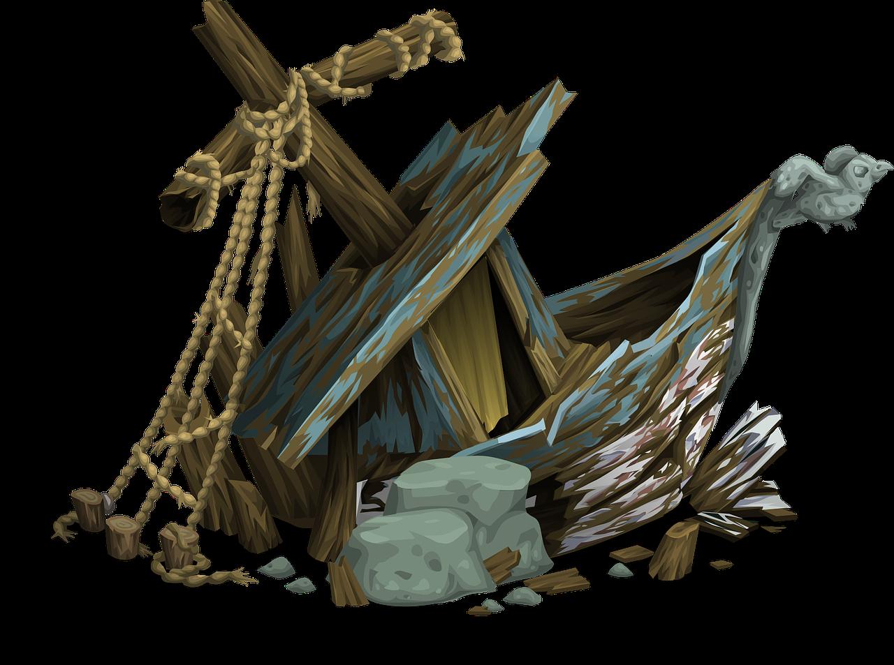 Shipwreck Clipart