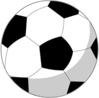 Soccerball Clip Art--17
