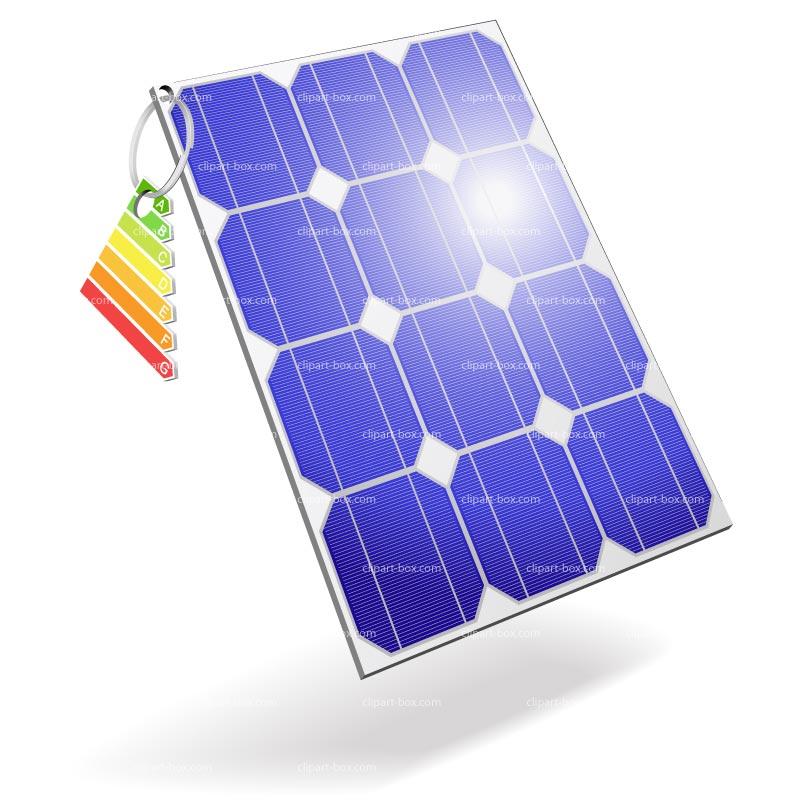 Solar Panel Clip Art--0