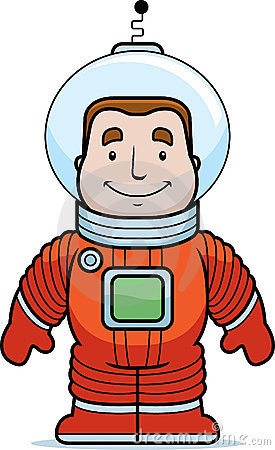 Spaceman Clipart--19
