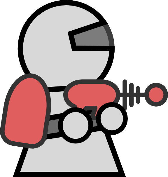 Spaceman Clipart--13