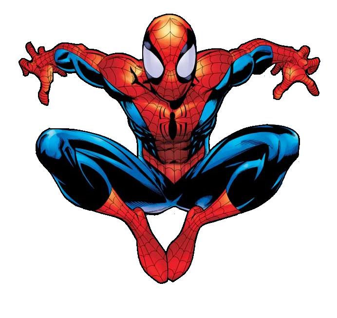 Spider Man Clip Art--10