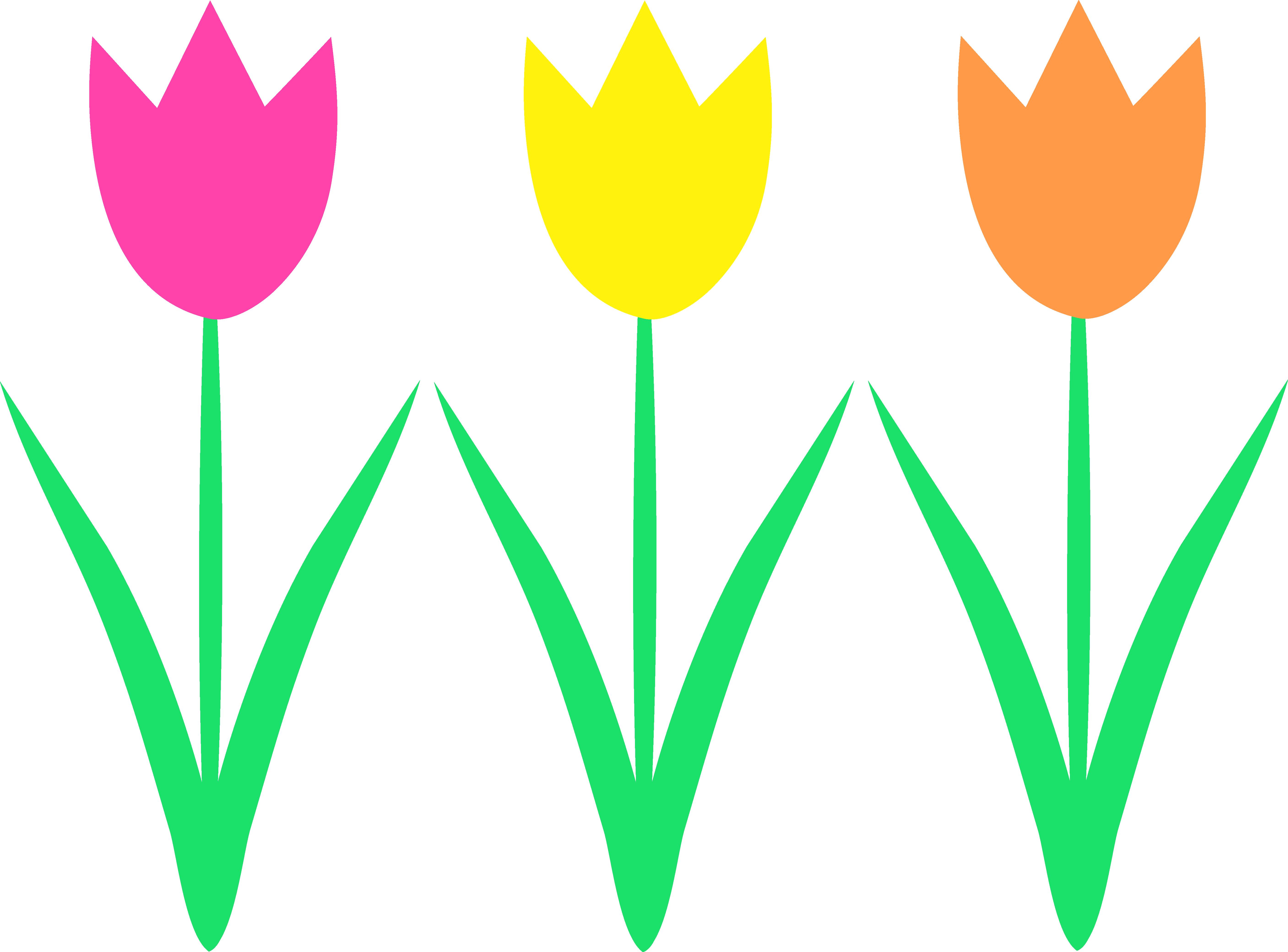 Spring Flower Clipart--1