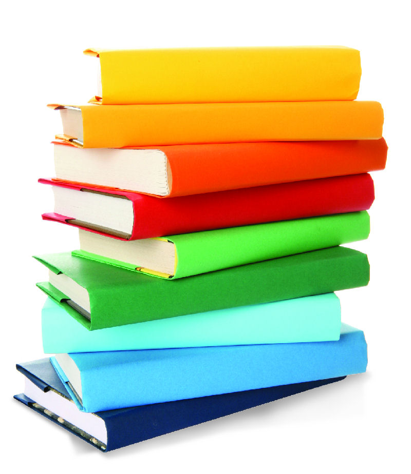 Stack Of Books Clipart--17