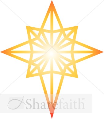 Star Of Bethlehem Clipart
