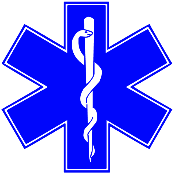 Star Of Life Clipart--0