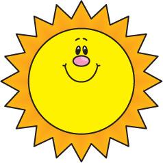 Sun Images Clip Art
