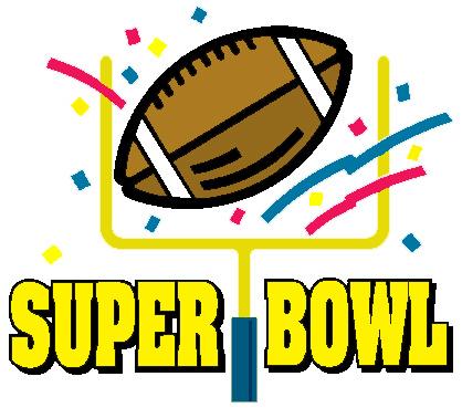 - Super Bowl Clip Art Free