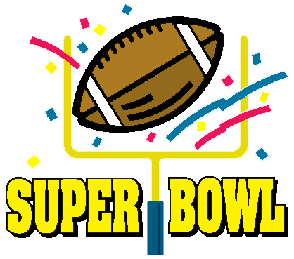 Superbowl Clipart