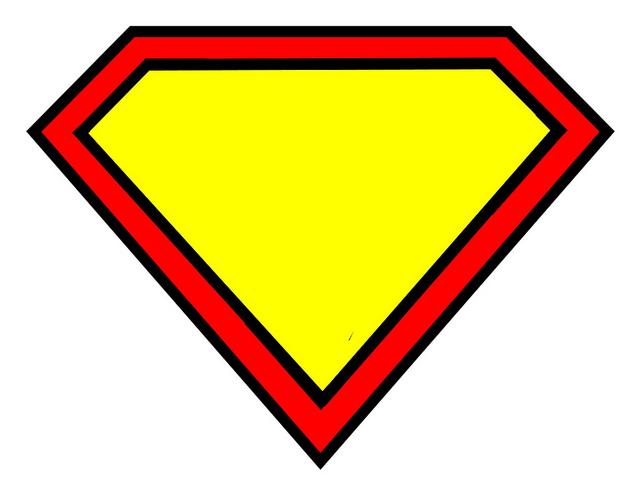 Superman Logo Clip Art--1