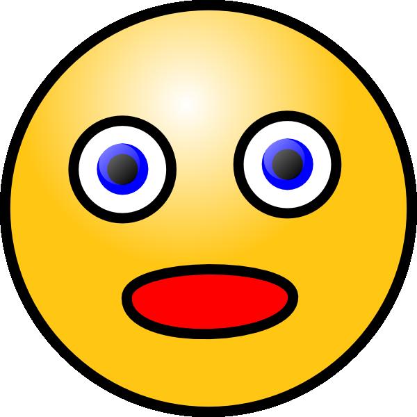 Surprised Face Clip Art