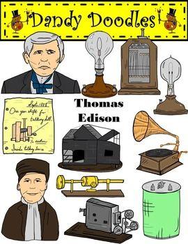 Thomas Edison Clipart