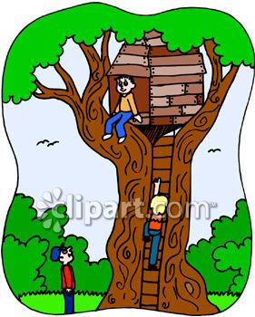 - Tree House Clip Art