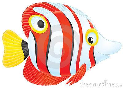 Tropical Fish Clip Art--0