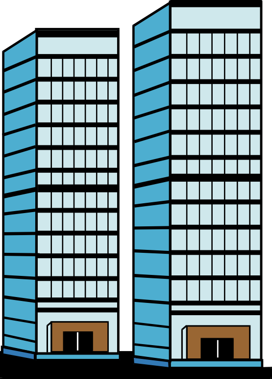 Twin Towers Clipart--0