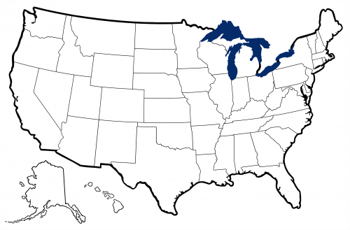 United States Map Clip Art--8