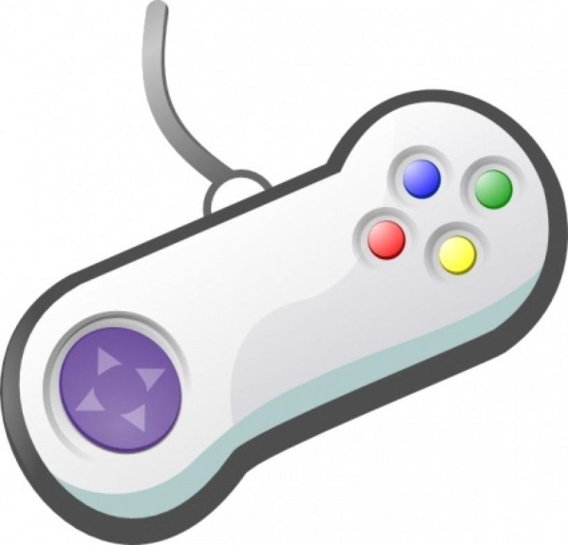 Video Game Controller Clip Art--9