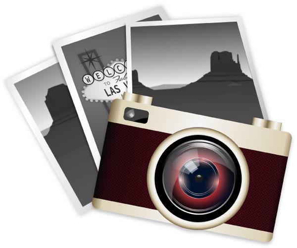 Vintage Camera Clipart--10