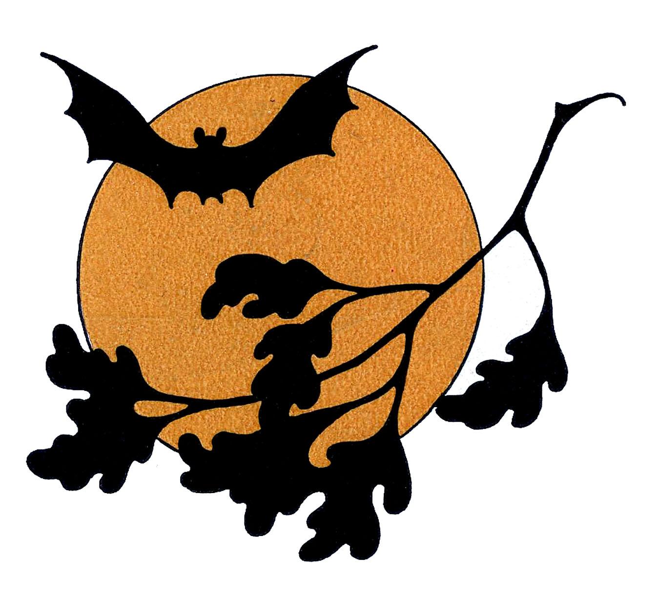 Vintage Halloween Clipart--1