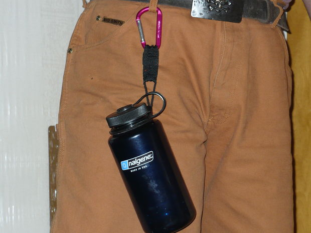 - Water Bottle With Clip