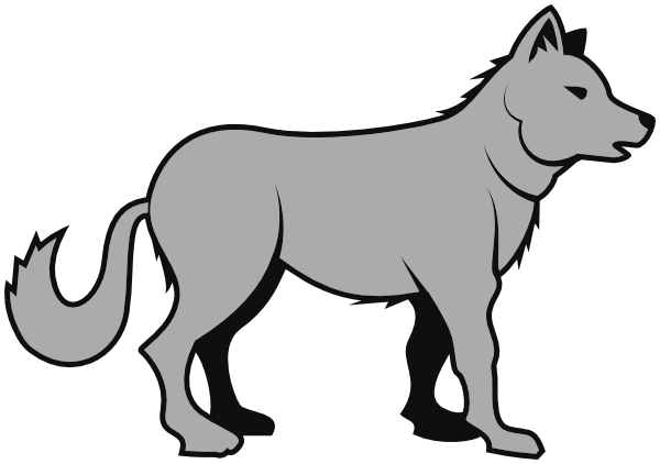 Wolf Clipart--16