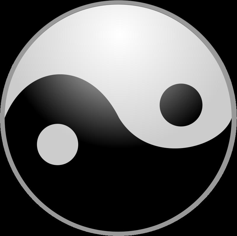 Yin Yang Clipart--1