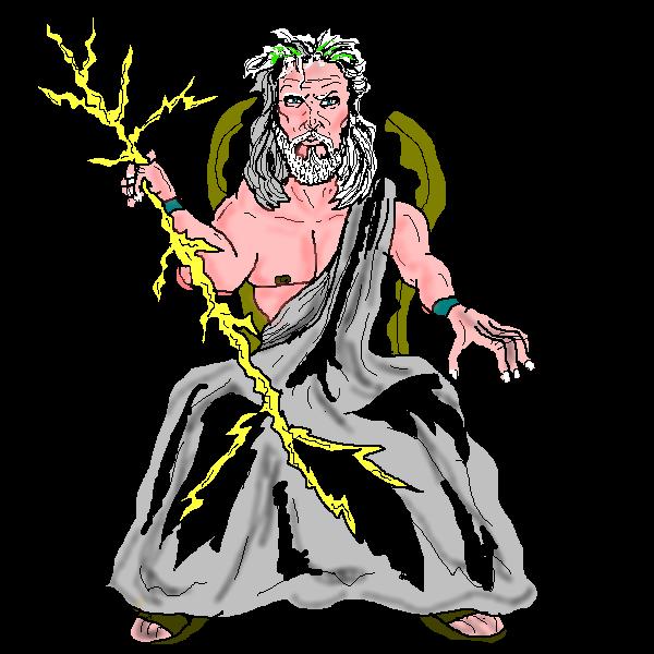 - Zeus Clip Art