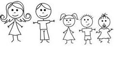 0 ideas about stick figures on stick figure family clip art