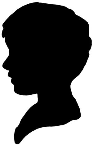 0 images about clipart silhouettes heads on