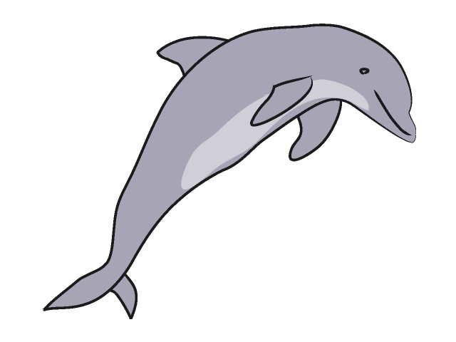 02 Dolphin Free Animal Clip Art Image Processing Ok Royalty Free