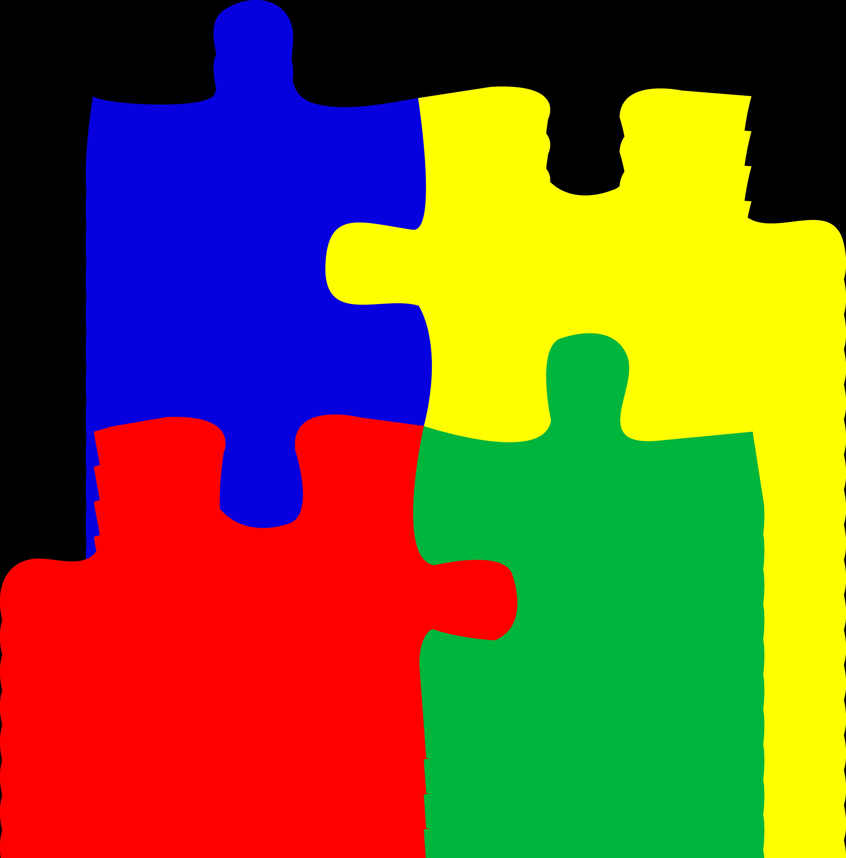 Puzzle Pieces Clipart