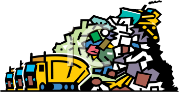 0901 0904 4518 Trucks Dumping Garbage At-0901 0904 4518 Trucks Dumping Garbage At A Landfill Clipart Image Png-1