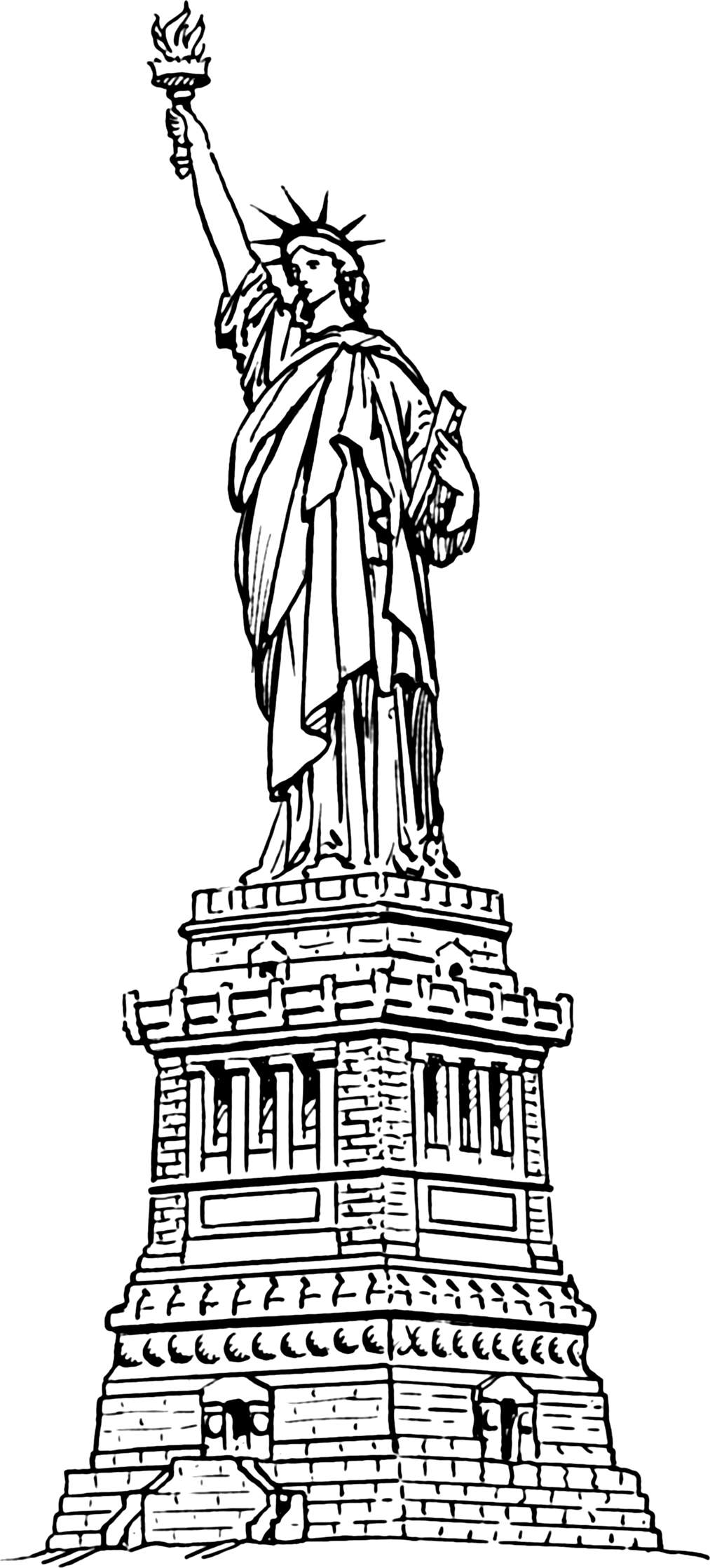 0a9028c3234545492a11c576141a8 - Statue Of Liberty Clipart