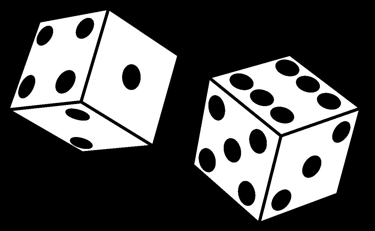 1 dice clipart