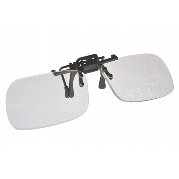 1.25 Clip On U0026amp; Flip Up Small Cl- 1.25 Clip On u0026amp; Flip Up Small Clear Magnifying Reading Glasses-3