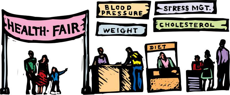 Health Fair Clip Art